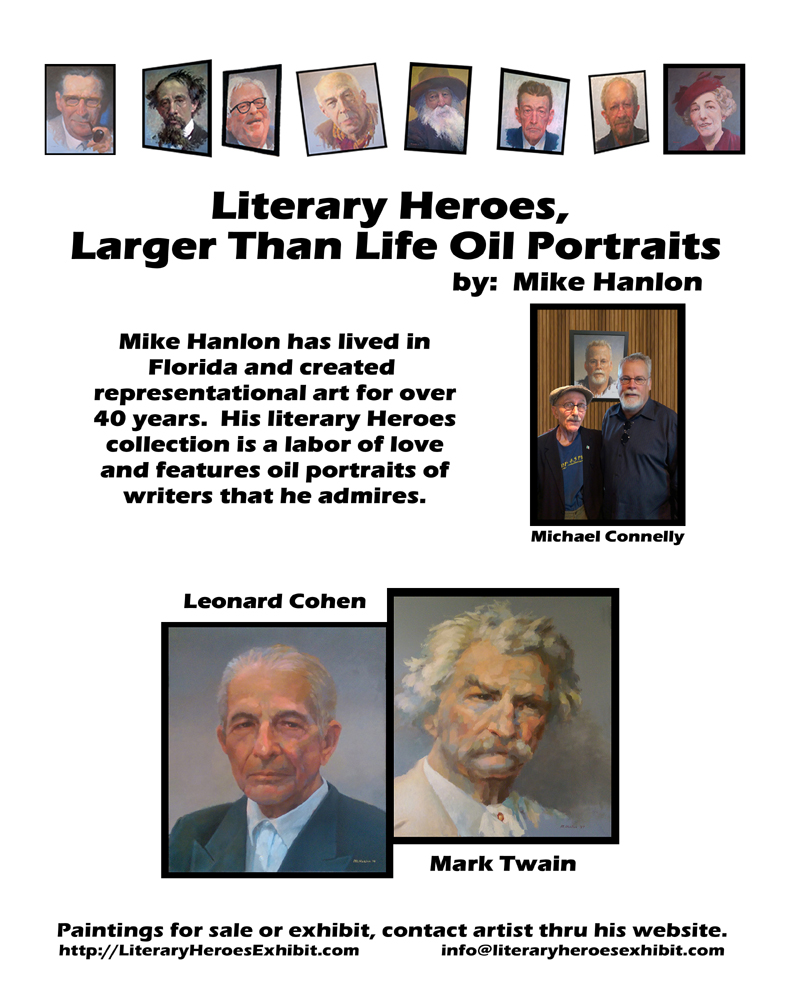 Literary Heroes Poster